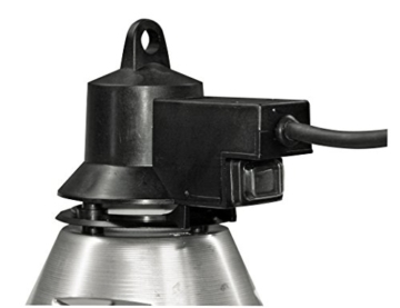 Kerbl 22291 Infrarot-Wärmestrahlgerät Alu 5 m Kabel mit Sparschalter - 2