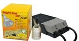 Lucky Reptile - Bright Sun UV Desert 70 W Komplettset, Metalldampflampe inklusive passende Fassung und Vorschaltgerät - 1
