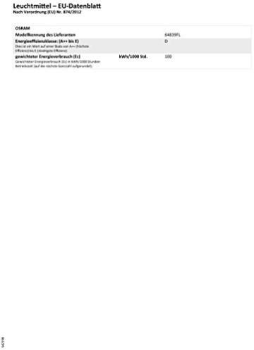 OSRAM Halopar 64839 PAR38 Strahler 100 Watt Flood HALOGEN - 3