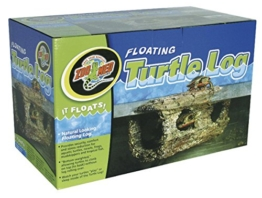 Zoo Med TA-40E Floating Turtle Log, schwimmendes Versteck für Wasserschildkröten, Amphibien - 1