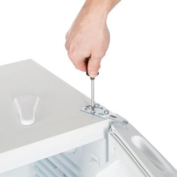 Ultratec Kühlschrank m. Glasfächern, 85 Liter, freistehend - 4