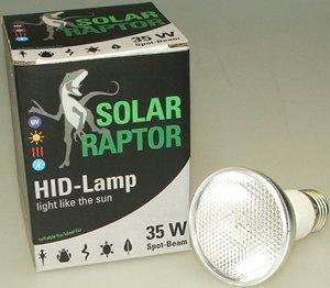 ECONLUX GmbH SolarRaptor HID-Lamp 35 Watt Spot Beam Set inkl. EVG + ClampLamp - 2