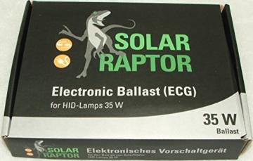 ECONLUX GmbH SolarRaptor HID-Lamp 35 Watt Spot Beam Set inkl. EVG + ClampLamp - 3